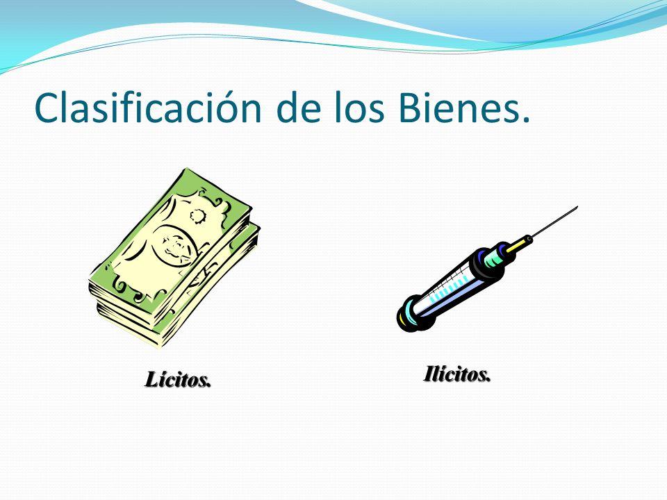 Clasificación de los Bienes.