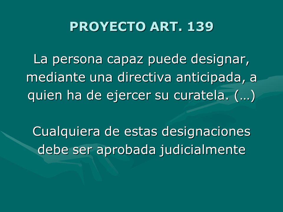 PROYECTO ART. 139