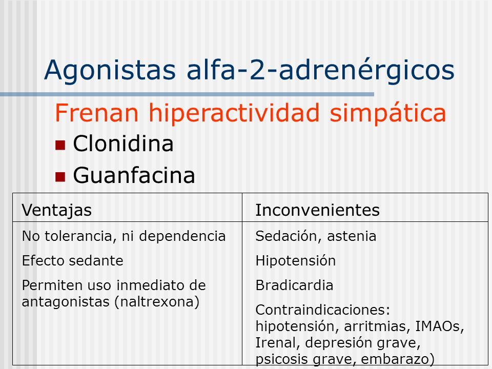 Agonistas alfa-2-adrenérgicos