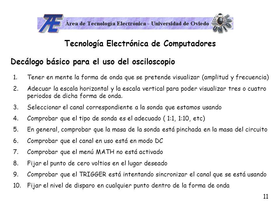 Tecnología Electrónica de Computadores