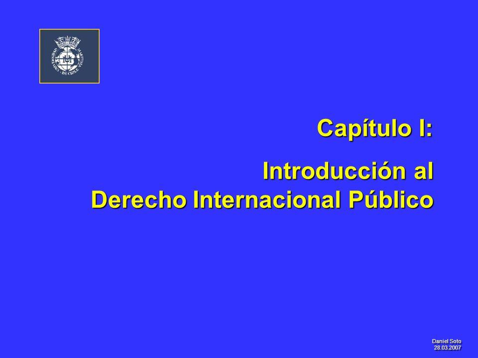 Introducción al Derecho Internacional Público