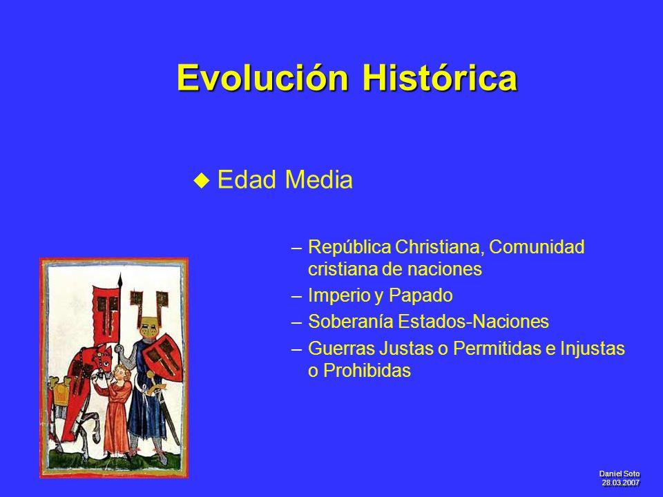 Evolución Histórica Edad Media