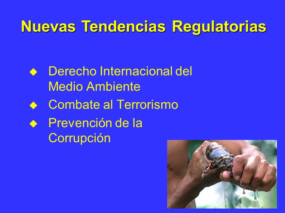 Nuevas Tendencias Regulatorias