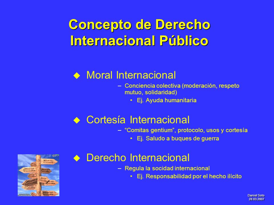 Concepto de Derecho Internacional Público