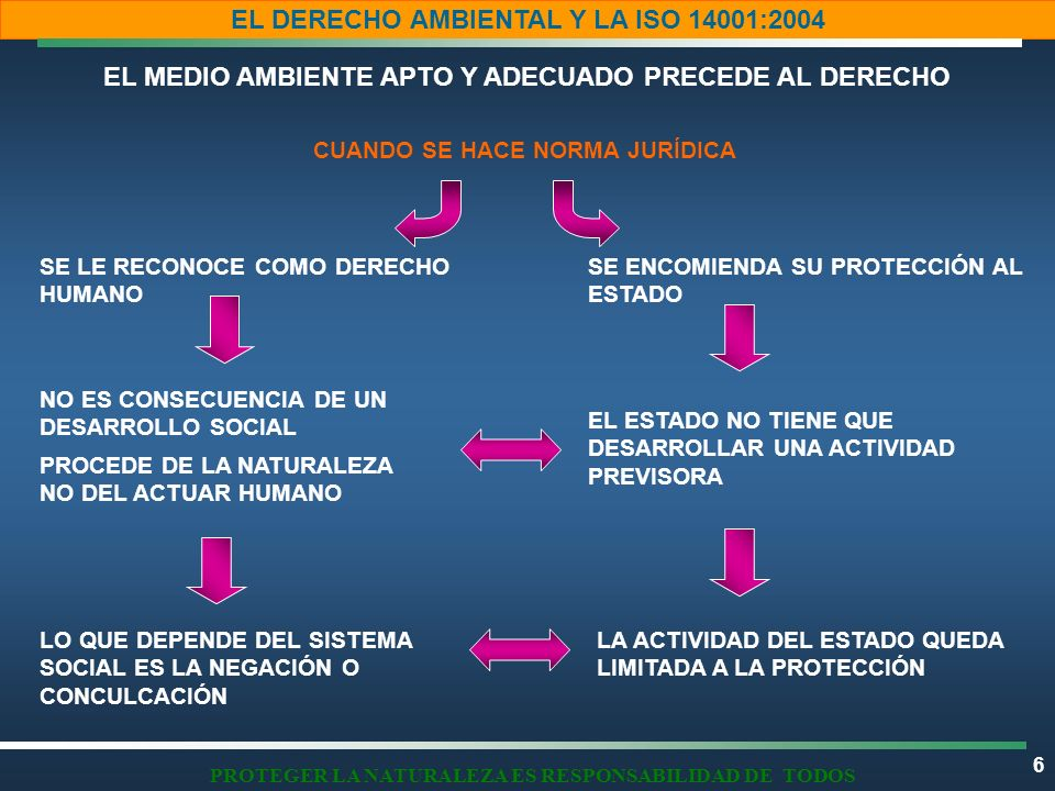 PROTEGER LA NATURALEZA ES RESPONSABILIDAD DE TODOS