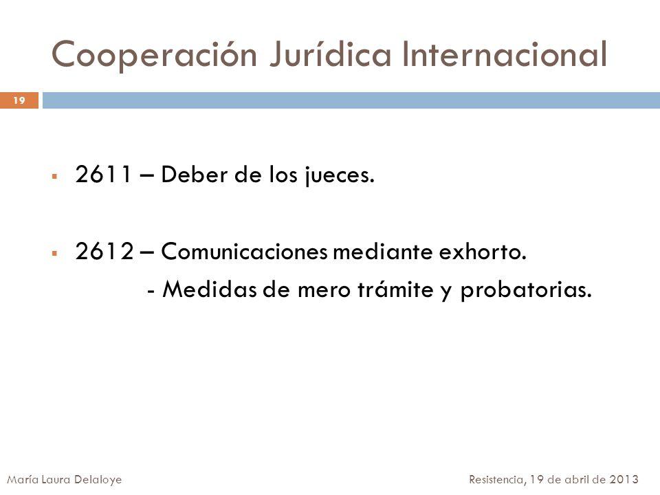 Cooperación Jurídica Internacional
