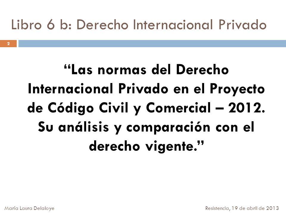 Libro 6 b: Derecho Internacional Privado