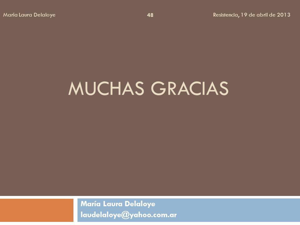 María Laura Delaloye laudelaloye@yahoo.com.ar