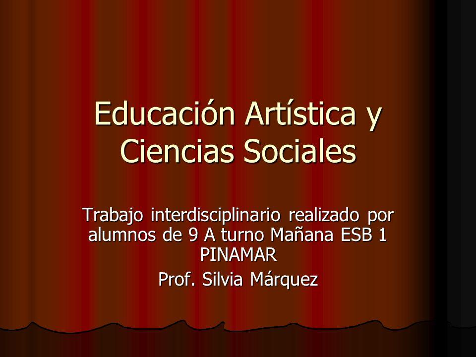 Educación Artística y Ciencias Sociales
