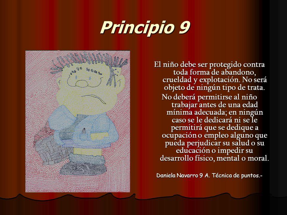 Daniela Navarro 9 A. Técnica de puntos.-