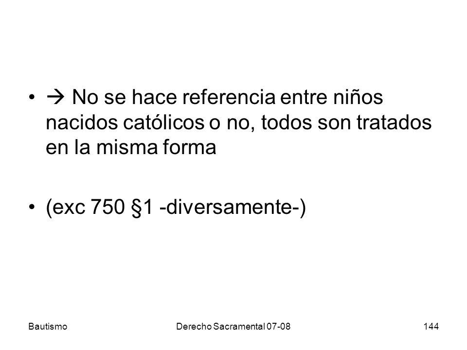 (exc 750 §1 -diversamente-)