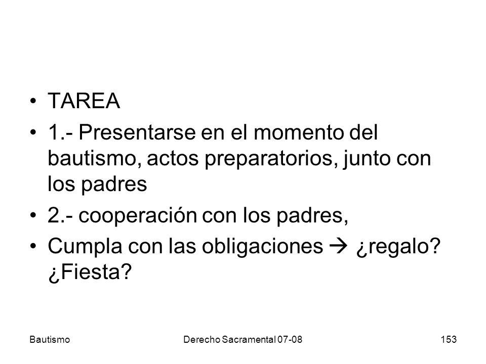 2.- cooperación con los padres,