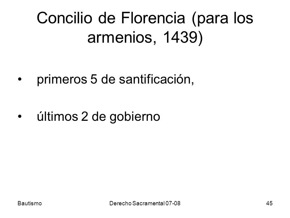 Concilio de Florencia (para los armenios, 1439)