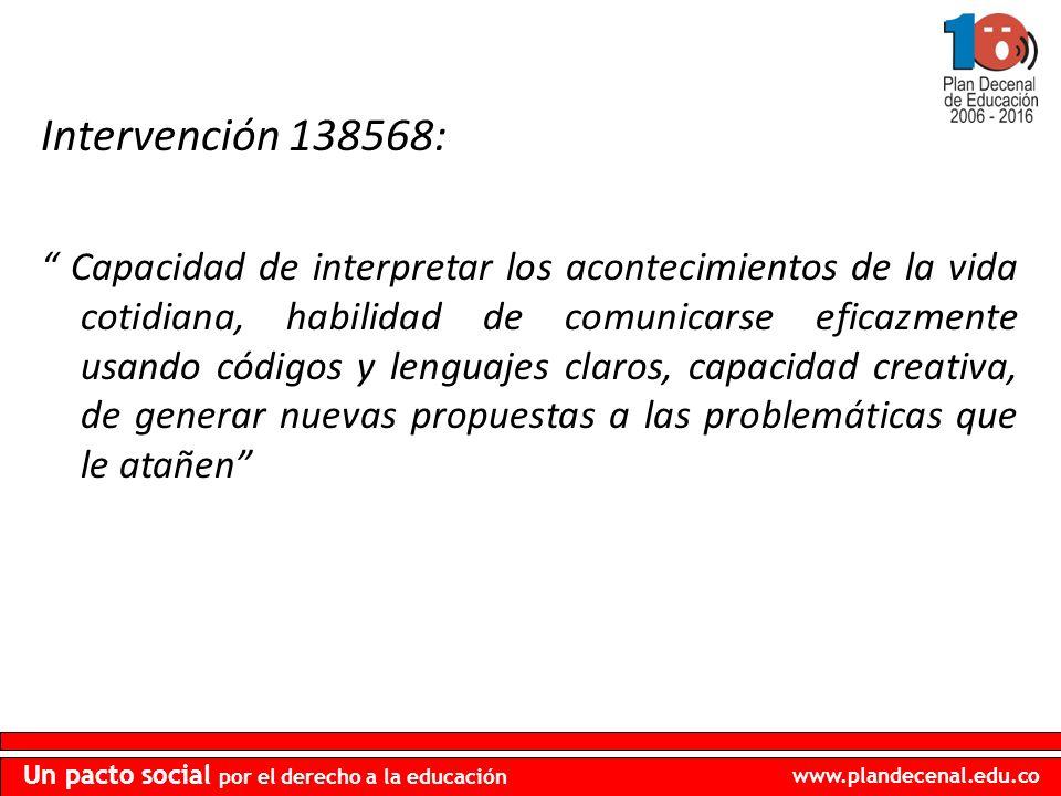 Intervención 138568: