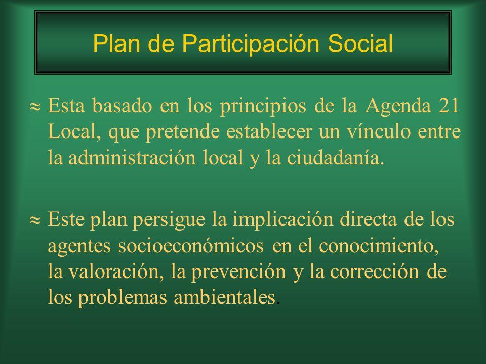 Plan de Participación Social