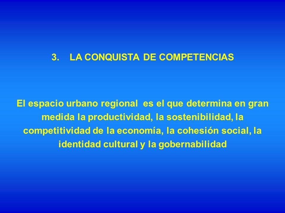 3. LA CONQUISTA DE COMPETENCIAS