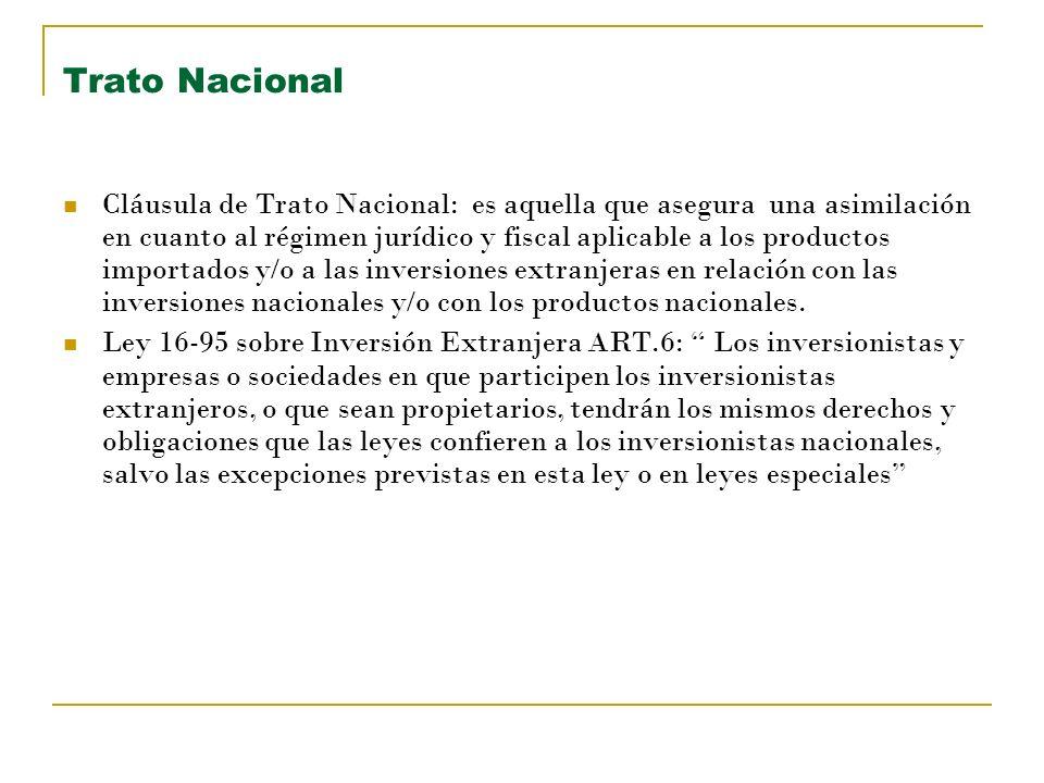 Trato Nacional
