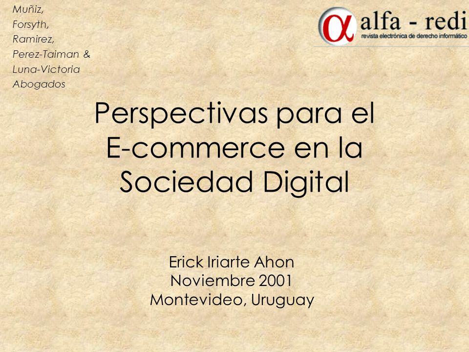 Perspectivas para el E-commerce en la Sociedad Digital