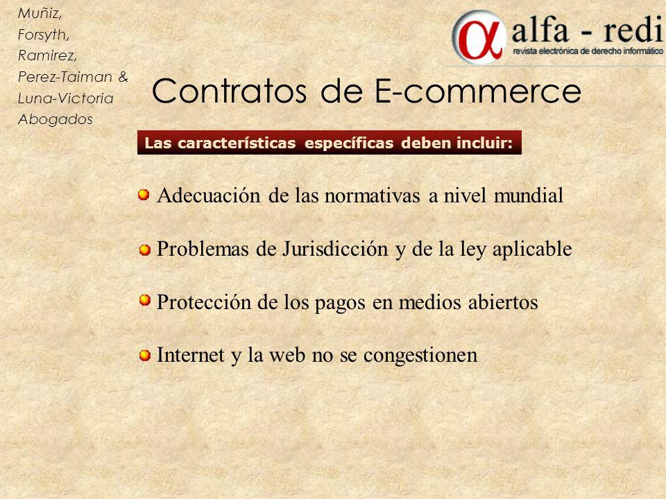 Contratos de E-commerce