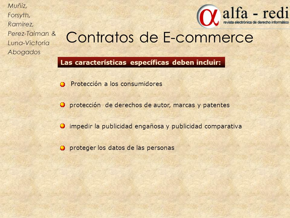 Contratos de E-commerce
