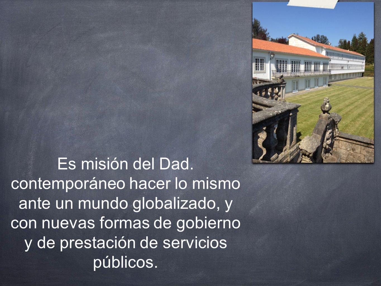 Es misión del Dad.