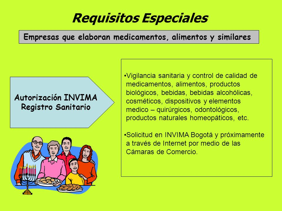 Requisitos Especiales