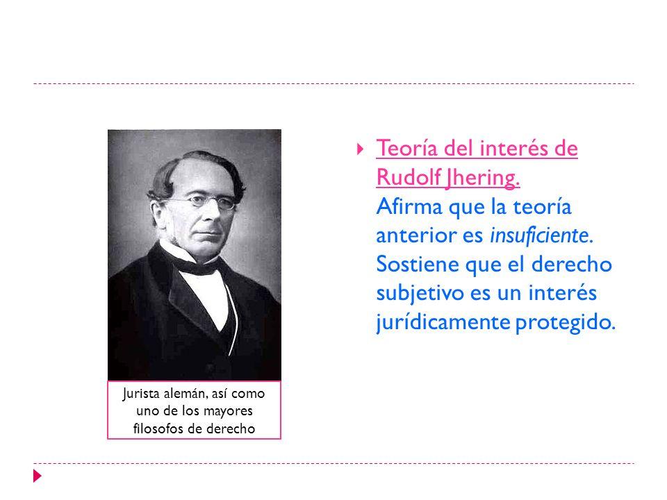 Jurista alemán, así como uno de los mayores filosofos de derecho