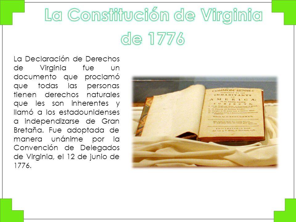 La Constitución de Virginia