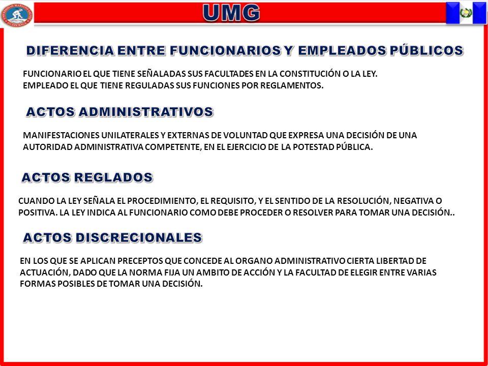 DIFERENCIA ENTRE FUNCIONARIOS Y EMPLEADOS PÚBLICOS