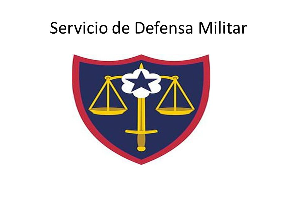 Servicio de Defensa Militar