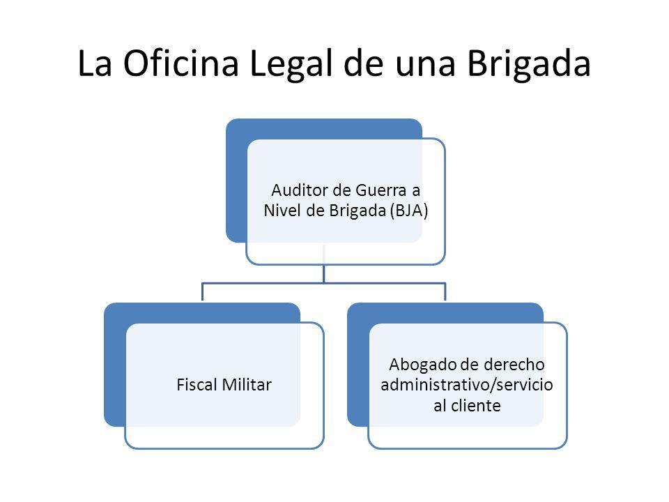 La Oficina Legal de una Brigada
