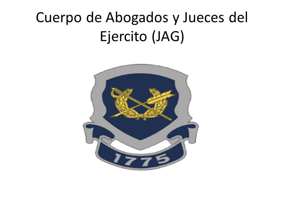 Cuerpo de Abogados y Jueces del Ejercito (JAG)