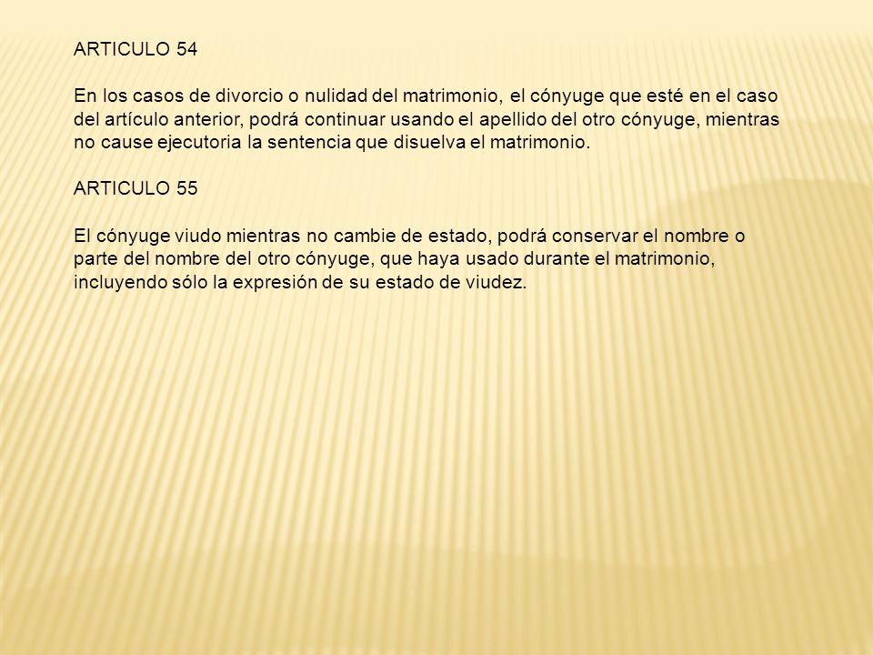 ARTICULO 54