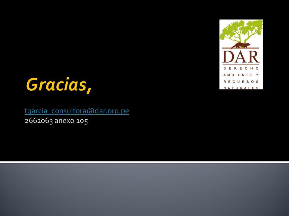 tgarcia_consultora@dar.org.pe 2662063 anexo 105
