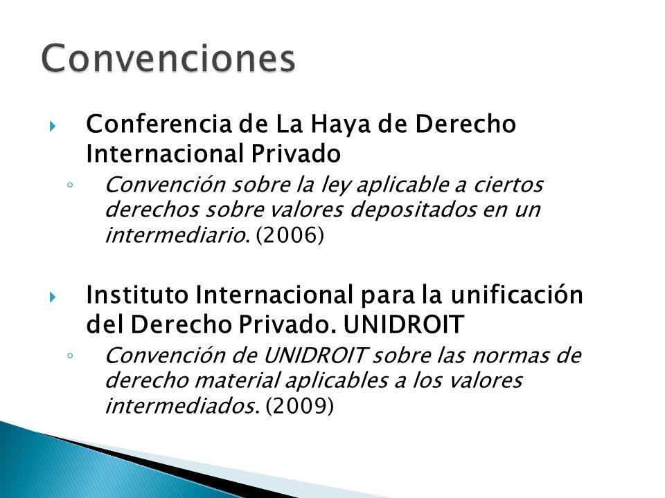 Convenciones Conferencia de La Haya de Derecho Internacional Privado