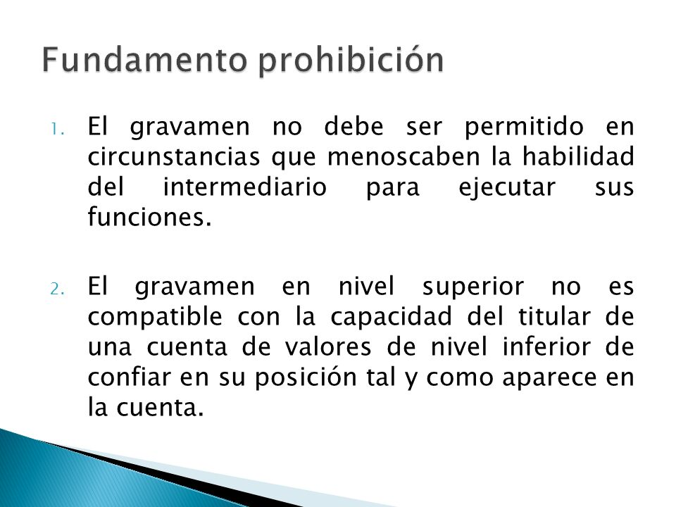 Fundamento prohibición