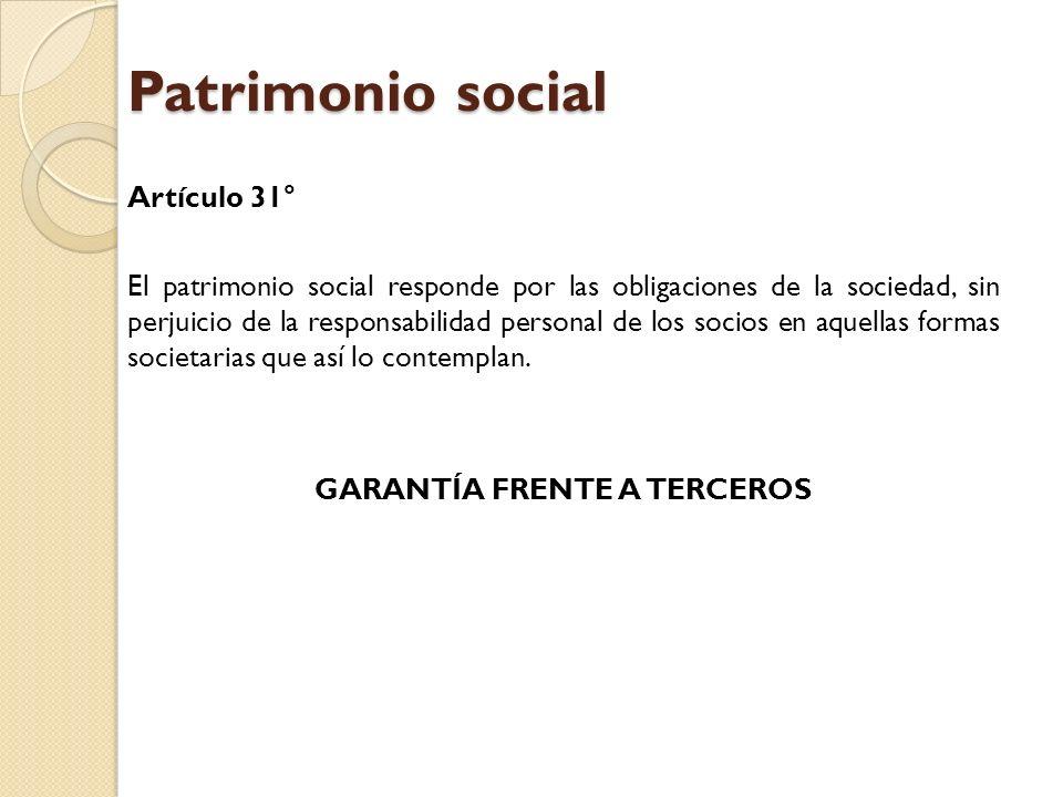 Patrimonio social