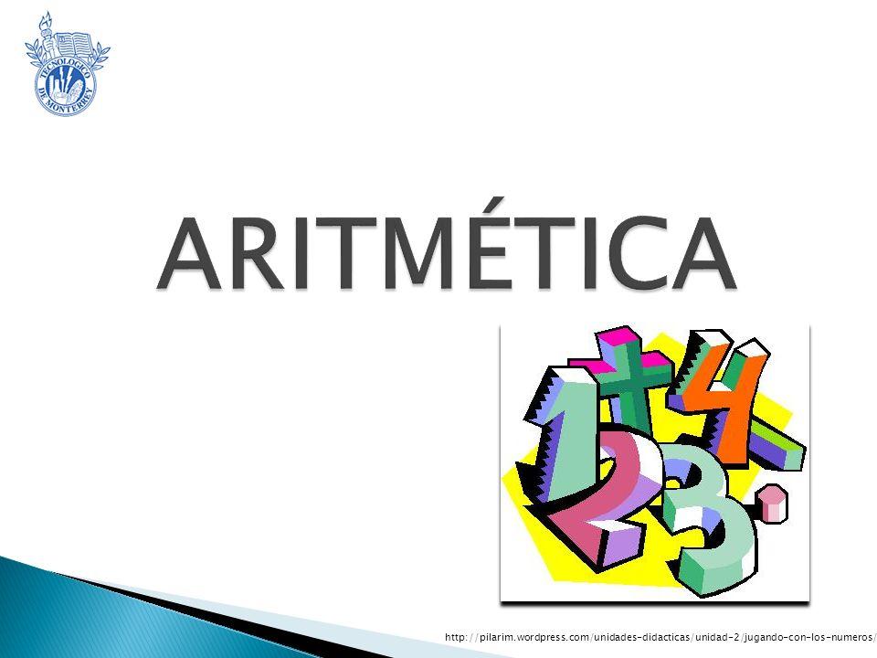 ARITMÉTICA http://pilarim.wordpress.com/unidades-didacticas/unidad-2/jugando-con-los-numeros/