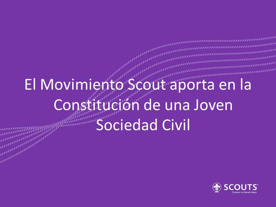 El Movimiento Scout aporta en la Constitución de una Joven Sociedad Civil