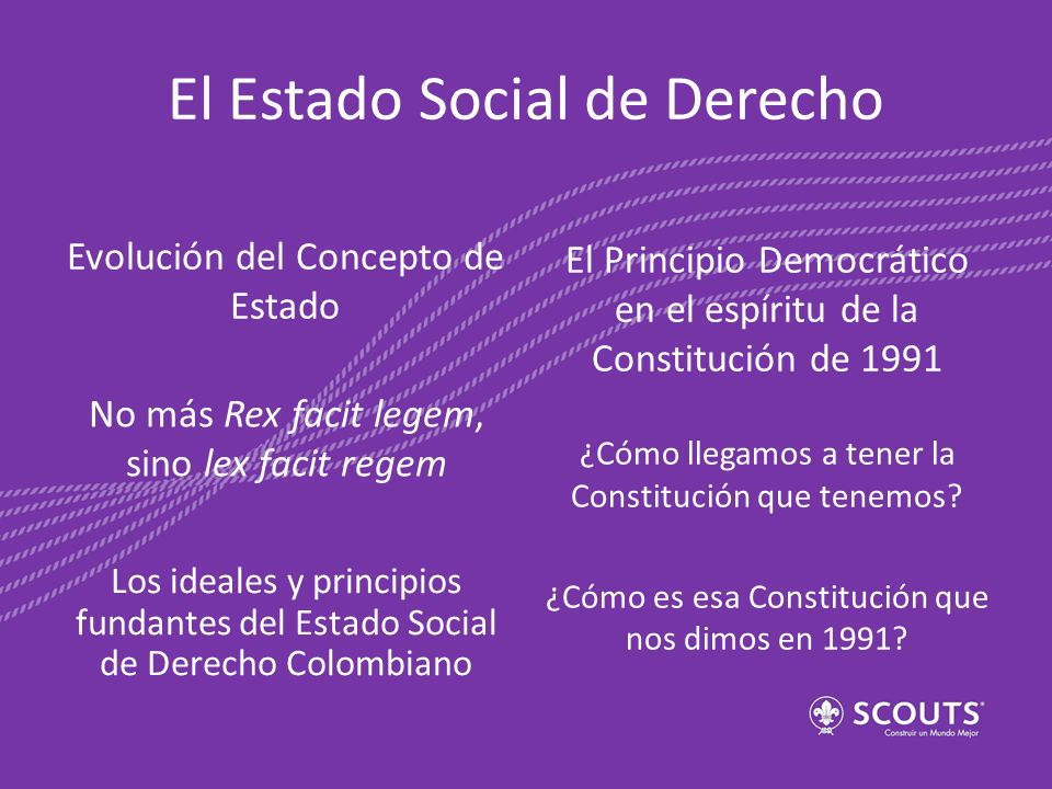 El Estado Social de Derecho