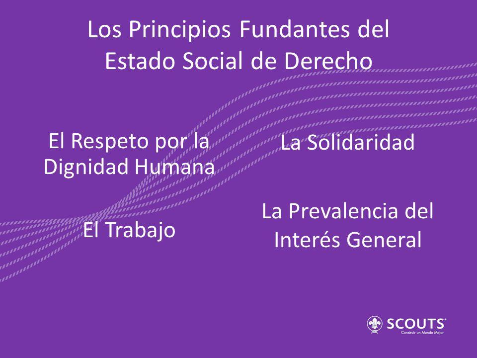Los Principios Fundantes del Estado Social de Derecho