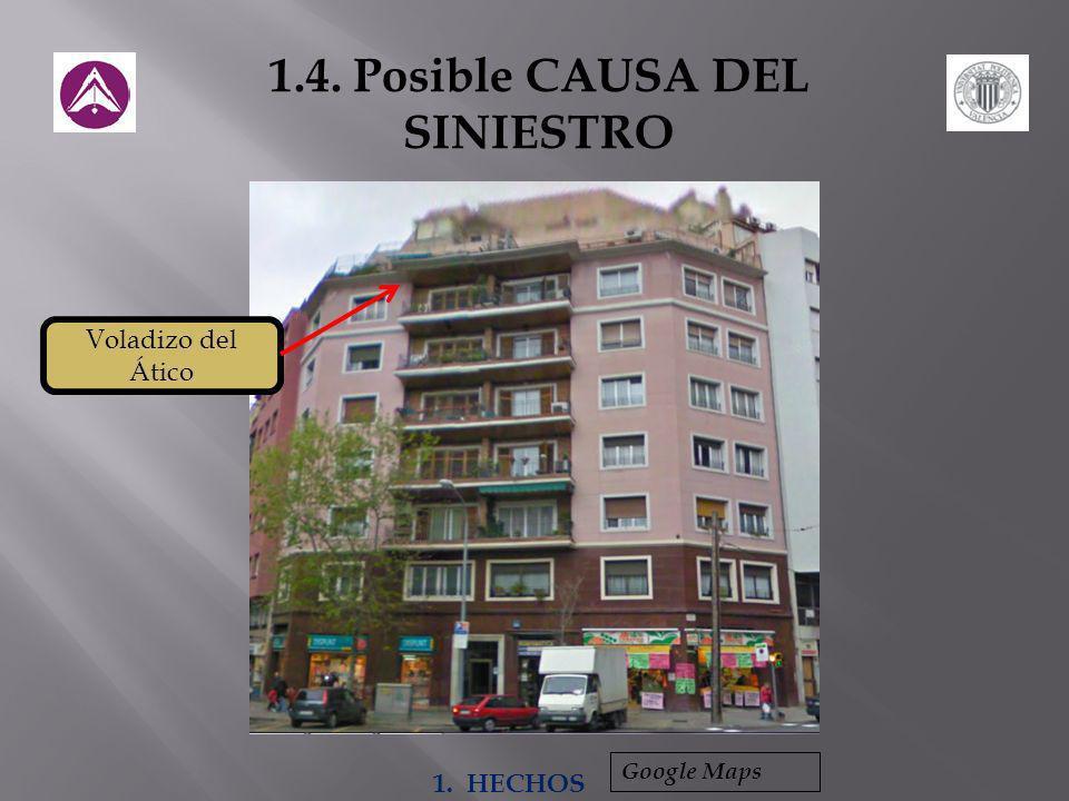1.4. Posible CAUSA DEL SINIESTRO