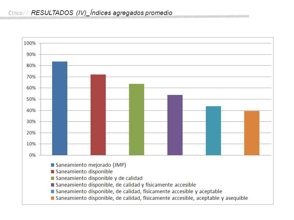 Cinco// RESULTADOS (IV)_Índices agregados promedio