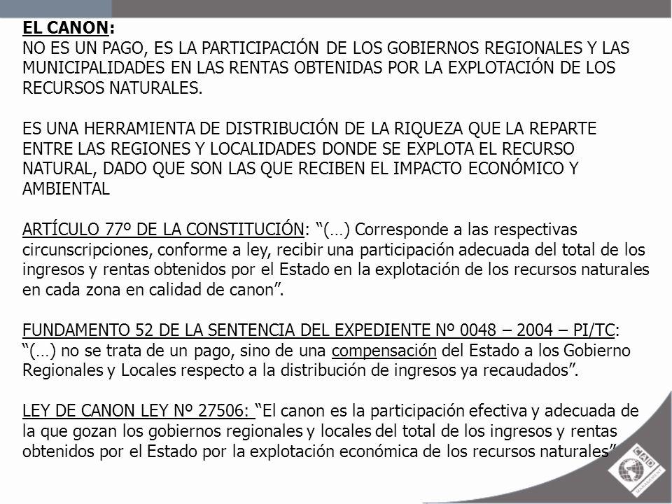 EL CANON: