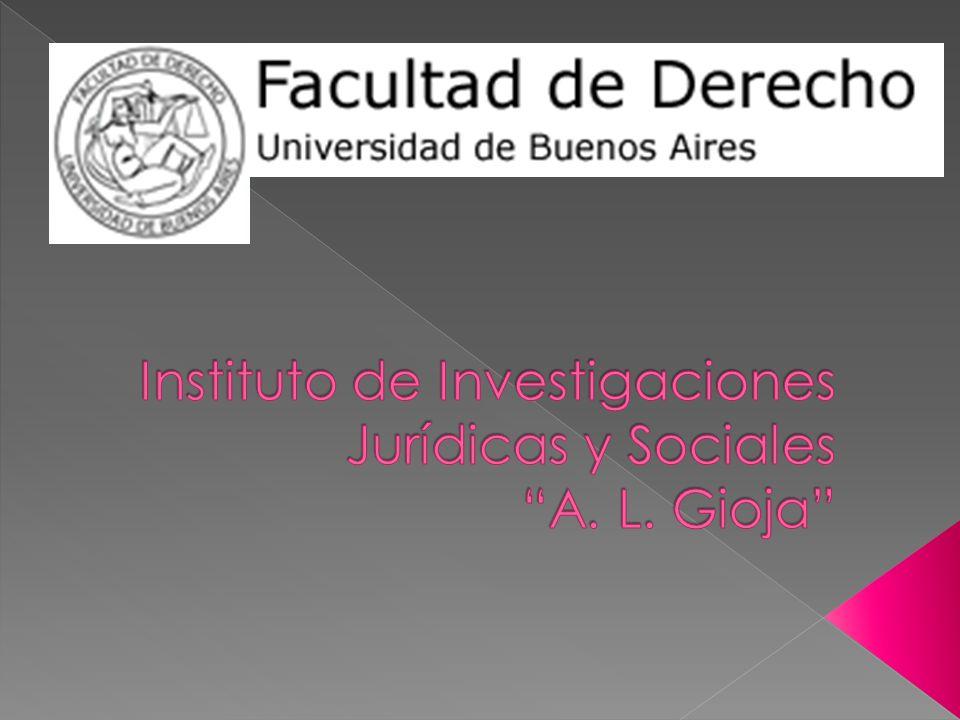 Instituto de Investigaciones Jurídicas y Sociales A. L. Gioja