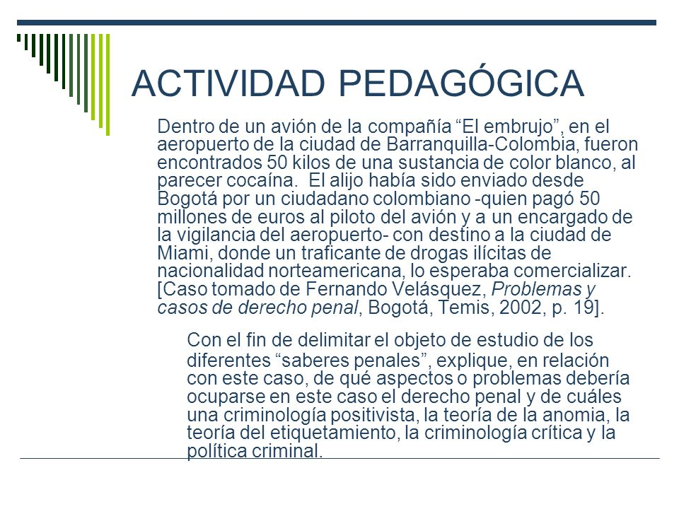 ACTIVIDAD PEDAGÓGICA