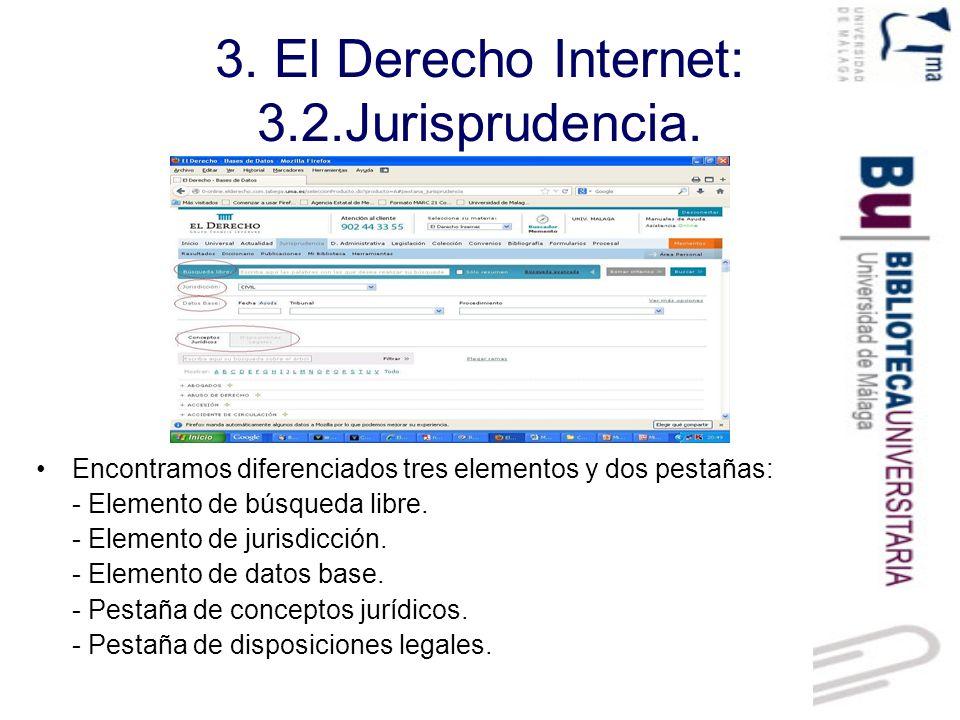 3. El Derecho Internet: 3.2.Jurisprudencia.