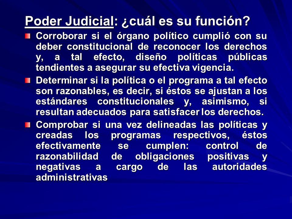 Poder Judicial: ¿cuál es su función