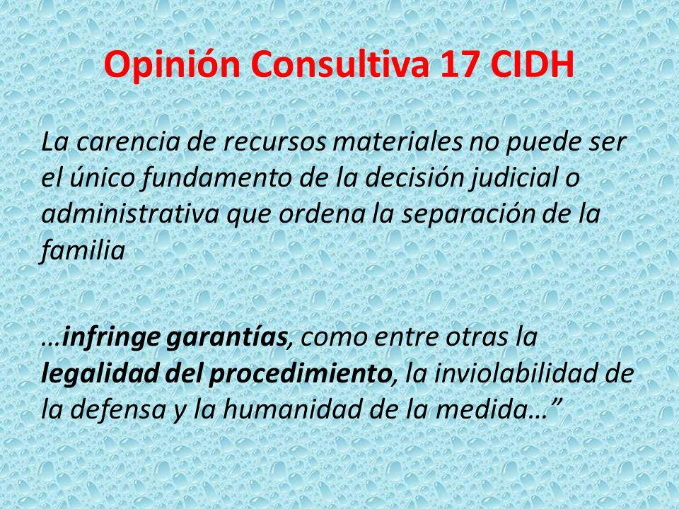 Opinión Consultiva 17 CIDH