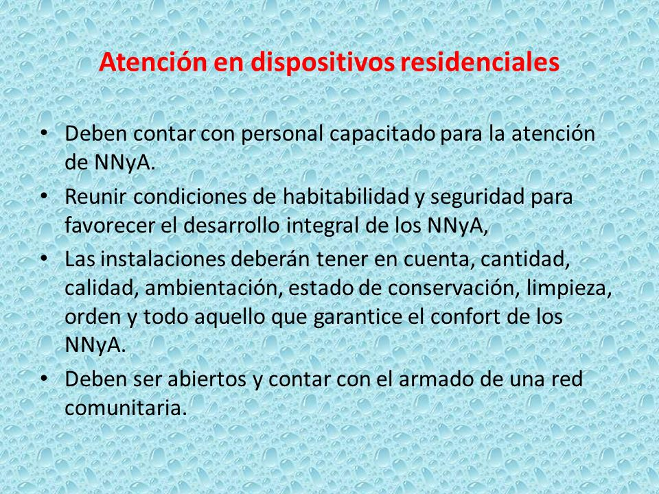Atención en dispositivos residenciales